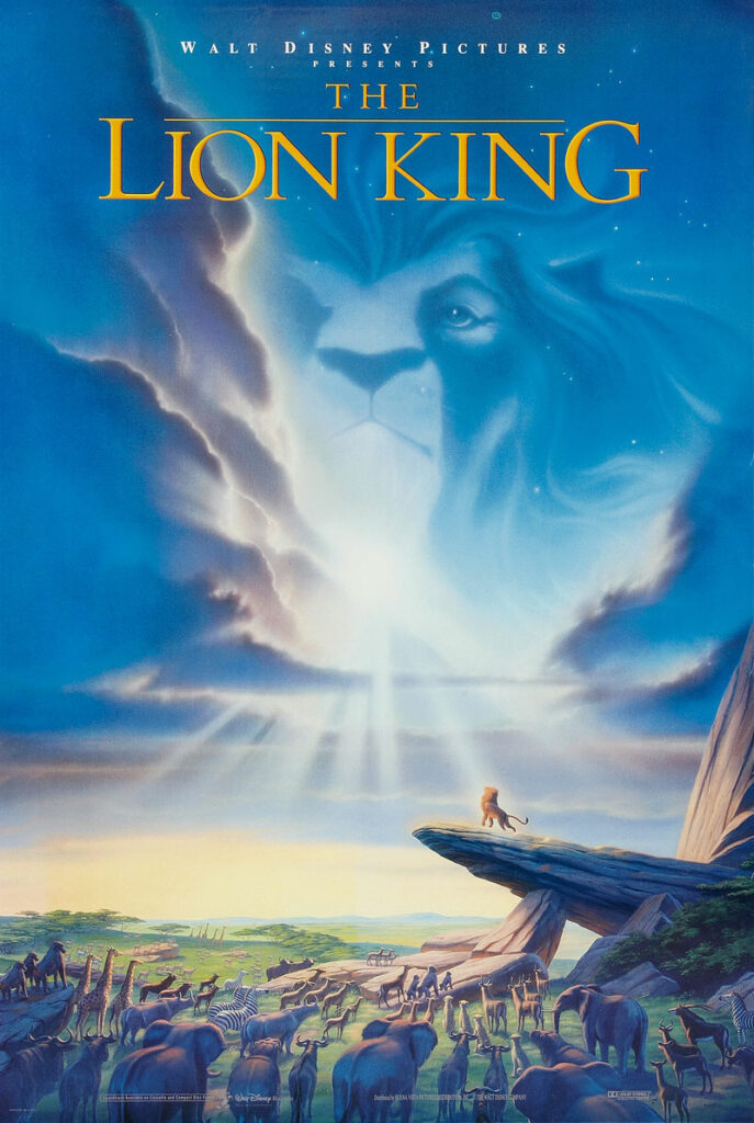 The Lion King features Simba (meaning lion in Swahili), a baby lion the heir apparent to the throne of Mufasa, his father as the Pride Land's ruler.